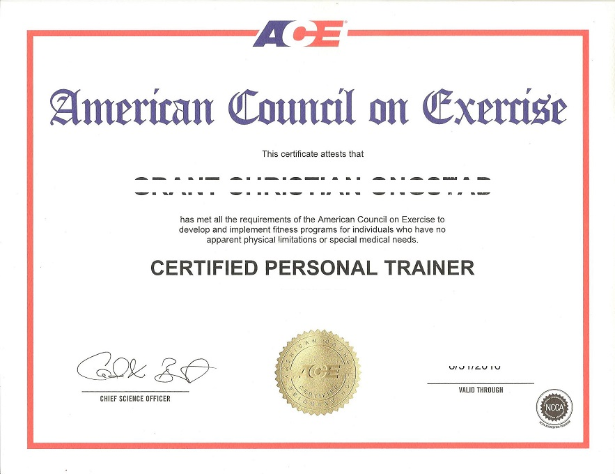 Ace Personal Trainer Dumps Official Braindumps